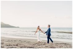 Bride and groom walking on the beach during golden hour in Costa Rica. Wedding in Guanacaste Costa Rica. Photographed by Samba to the Sea. Costa Rica wedding, Costa Rica beach wedding, Destination beach wedding, Costa Rica wedding tips, Costa Rica wedding venue, Costa Rica wedding locations, Costa Rica wedding ideas, Costa Rica wedding photographer, Costa Rica wedding photography, Costa Rica wedding Guanacaste, Costa Rica wedding Tamarindo, Costa Rica Wedding elope, Costa Rica engagement