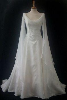 Medieval wedding dress