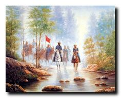 Showcasing true art in your own style! This civil war grey soldier on horse's country western home decor art print poster will definitely add a lot of charm to your home decor. This beautiful color combination of makes this poster must-buy! This wall poster is uniquely created with technique that ensures the better quality product with perfect color accuracy which offers long-lasting beauty to your home.