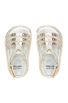 Little studded sandals; if i end up having a girl, she's gonna really need these, lol