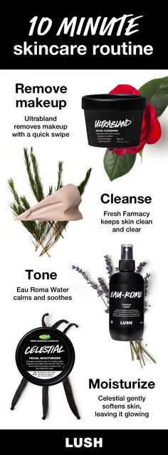 If you've got 10 minutes to dedicate to your skincare routine, we recommend adding a couple of steps to really bring out your skin's best. This easy Lush skincare routine can fit in after a long day or an early morning.