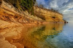 "Miners Cove"" - Pictured Rocks National Lakeshore , Munising Michigan"
