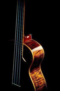 Acoustic Bass Look at that wood grain, so beautiful.
