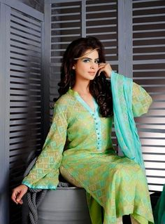 Image Embroidered Eid Collection 2014 by Tri-Star