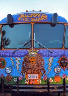 Bus Hippie Van
