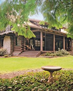 Looking back on it, the Haberlachs realize they had no idea what they were getting into – this large log summer home just miles from downtown Portland, Ore., listed on the National Register of Historic Places.