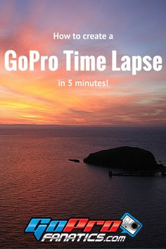 This is the EASIEST and QUICKEST way to create a time lapse video in GoPro…