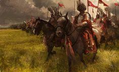 Poland History, Armies, Medieval Fantasy, Pen And Paper, Story Inspiration, Military History, Bushcraft, Illustration, Fantasy Art