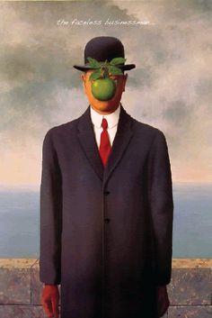 Art: Faceless Businessman