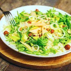 Owocowa sałatka z kaszą kuskus i rukolą Cabbage, Vegetables, Fit, Veggies, Vegetable Recipes, Cabbages, Collard Greens
