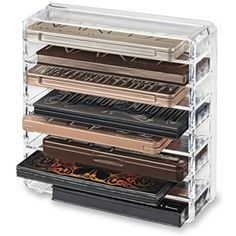 byAlegory Acrylic Palette Organizer, Clear *** Want additional info? Click on the image. (This is an affiliate link) #Makeup