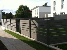 fully recycled white picket fence