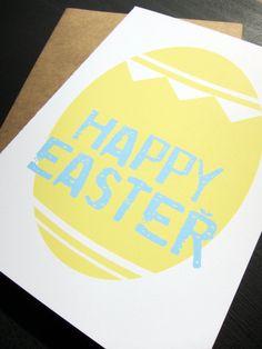 Festive Easter Egg: Single Card
