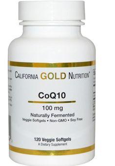 CoQ10 Coenzyme Naturally Fermented 100 mg 120 Veggie Softgels Heart Supplement…