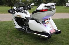Victory Vision police bike.  (Well not the police part)