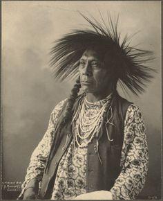 "Portraits from the ""Indian Congress of 1898""  Omaha, Nebraska  Photographer, Frank A. Rinehart"