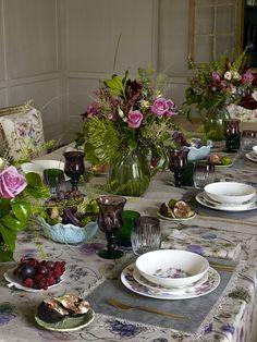 decoracion de mesas, individuales