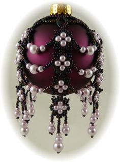 Mystic Pearls Ornament Cover Kit Mauve