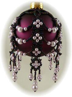 Mystic Pearls Ornament Cover Kit Mauve
