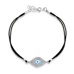 Checkout Nylon Eye Bracelet at BlingJewelry.com