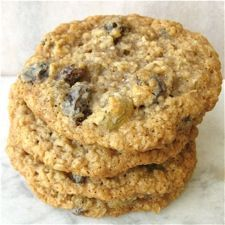 Soft and Chewy Oatmeal-Raisin Cookies – the signature oatmeal cookie flavor and soft/chewy texture never go out of style.