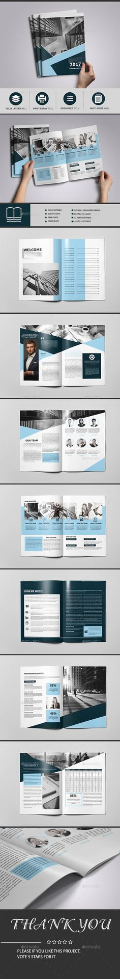 Victorio Annual Report Print, Template and Annual reports - business annual report template