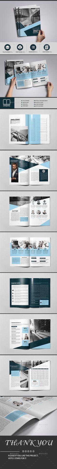 Colorful Multipurpose Brochure 16 Pages | Folletos y Folleto corporativo