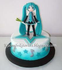 Miku cake