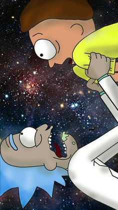 100 years, Rick and Morty! Wallpaper Notebook, Wallpaper Pc, Disney Wallpaper, Cartoon Wallpaper, Cartoon Pics, Cartoon Art, Iphone Wallpaper Rick And Morty, Wallpaper Bonitos, Rick And Morty Drawing