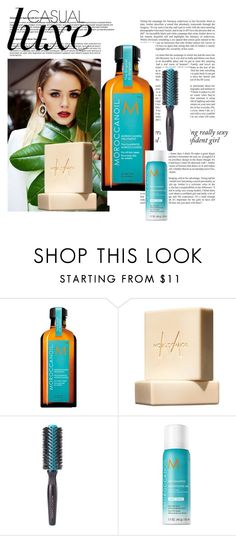 """""""Moroccanoil at Pure Emerald"""" by media-zii on Polyvore featuring beauty and Moroccanoil"""