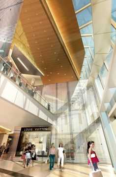 International architecture firm Kohn Pedersen Fox (KPF) unveiled today their design for One Central Macau. Chinese Architecture, Architecture Details, Modern Architecture, Master Room Design, Study Room Design, Shopping Mall Interior, Retail Interior, Stair Detail, Roof Detail