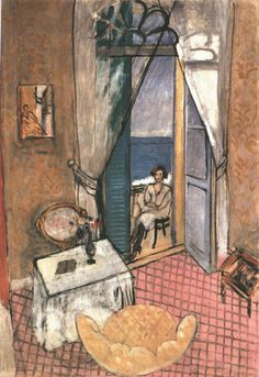 """Interior at Nice""; 1920; by Henri Matisse"