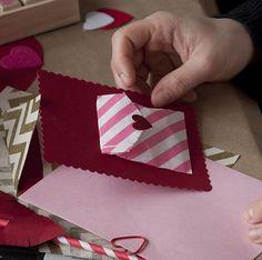 Valentine's day DIY card