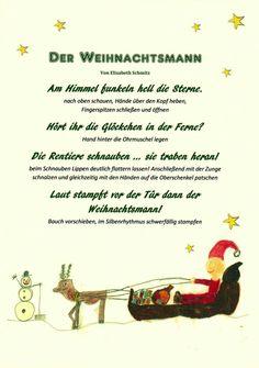 #weihnachten #winter #vorweihnachtszeit #weihnachtsmann #kindergarten #erzieher #erzieherin #kita #reim #geschichte