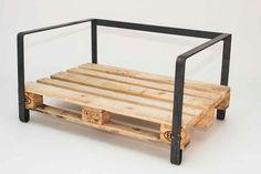 Pallet iron sofa