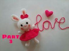 Amigurumi Örgü Oyuncak Tavşan Yapımı -How to Crochet an Amugurumi Rabbit-3 - YouTube
