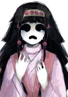 Nanika by clauslyva on DeviantArt I love this Clauslyva you're brilliant :O ~ Hunter x Hunter / I'm x Obsessed Alluka Zoldyck, Hisoka, Killua, Hunter Anime, Hunter X Hunter, Zoldyck Family, Shadow Of The Colossus, A Silent Voice, Anime Tattoos