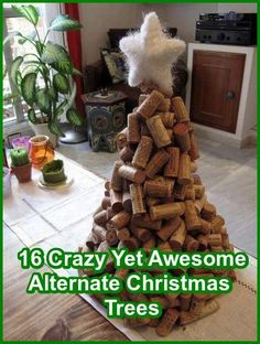 16 Crazy Yet Awesome Alternate Christmas Trees --- from InventorSpot.com --- for the coolest new products and wackiest inventions.