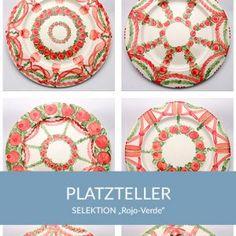 platzteller_rojoverde_sel Natural Selection, Simple Lines, Tablewares