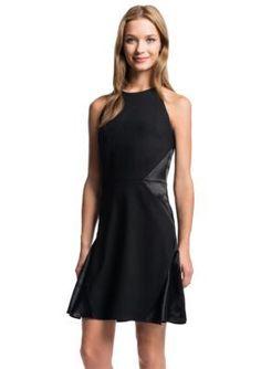1.State  Shine Inset Flip Dress