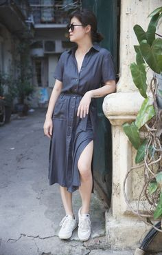 Midi Skirt, Shirt Dress, Skirts, Dresses, Fashion, Vestidos, Moda, Midi Skirts, Skirt