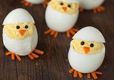 Húsvéti csibék tojásból Így még nem tetted asztalra a tojást: elképesztően cuki és nagyon egyszerű! Képeken a legaranyosabb tojásállatkák!