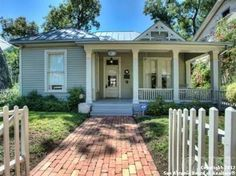 It's no 112 Fir St. in San Antonio, but this King William house would do also :)  Ahh... a girl can dream.