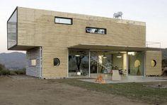 Дом из контейнера площадью 132m2