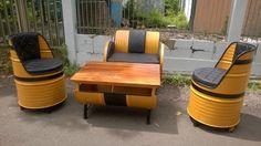Galeri Umah Tong: Furniture Trendi dan Modern Dari Drum Minyak Bekas...