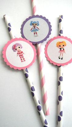 Lalaloopsy Doll Straws