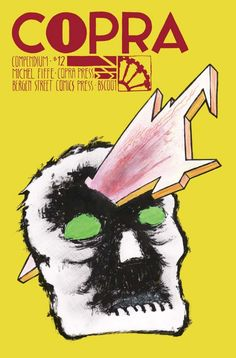 """Nick's favorite graphic novel of 2013 was """"Copra Compendium"""" by Michel Fiffe."""