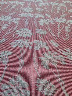 Cefyn Burgess 100% wool in pomegranate red