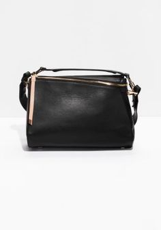 & Other Stories   Leather Crossbody Bag