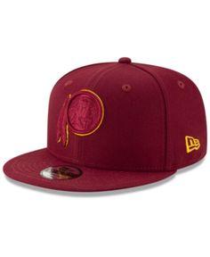2b1813826 New Era Boys  Washington Redskins Logo Elements Collection 9FIFTY Snapback  Cap - Red Adjustable